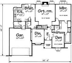 Plan 41705DB: