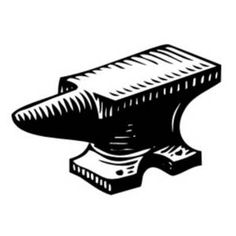stylized anvil