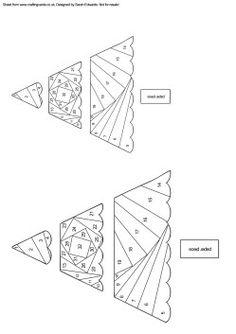 iris paper folding Christmas Tree