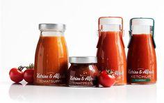 Katrine & Alfreds tomato products : Loving those jars