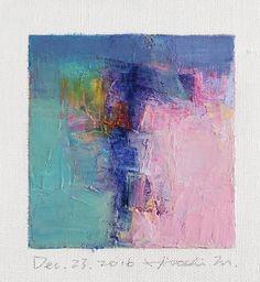 Il sagit de ma nouvelle peinture à lhuile originale complétée aujourdhui. Peinture à lhuile est très lente à sécher, il faut environ une semaine à sécher et à expédier de mon studio.  Je vous remercie, Hiroshi 23 décembre 2016 --------------------------------------------------------------------------------------------  Il sagit dune peinture à lhuile abstraite Original par Hiroshi Matsumoto  Titre: 23 décembre 2016 Taille : 9,0 cm x 9,0 cm (env. 4 « x 4 ») Taille du canevas : 14,0 cm x…