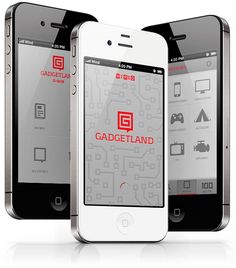 Gadgetland by Max Pirsky, via Behance