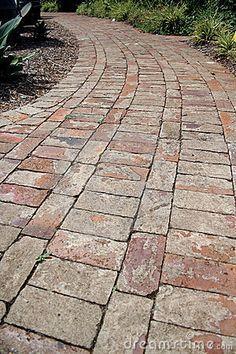 Brick Path Royalty Free Stock Images - Image: 791189