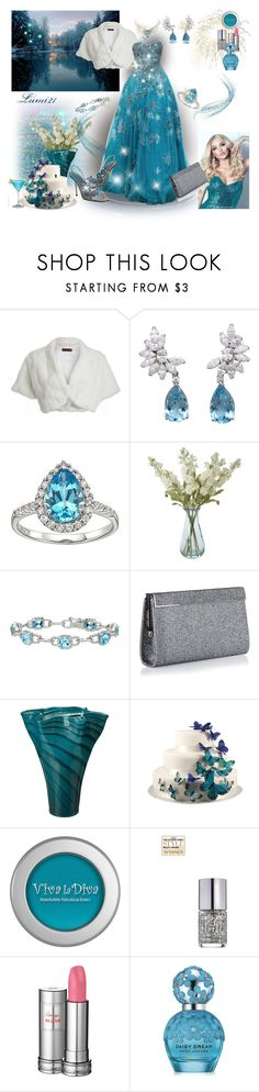 """""""dreaming..."""" by lumi-21 ❤ liked on Polyvore featuring Debut, Tony Ward, Van Cleef & Arpels, Lab, Shabby Chic, Ice, Jimmy Choo, Lenox, Tiffany & Co. and Viva La Diva"""