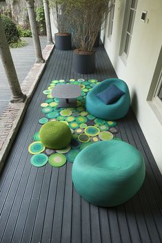 © Paola Lenti beanbags. too much to love here! #MyMoteef