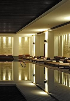 The Spa at the 'Aman at Summer Palace' hotel in Beijing