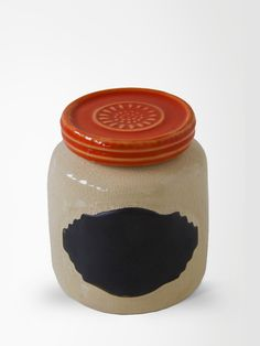 Pote de Ceramica Anelize Vermelho P | collector55 - loja de decoracao online - Collector55