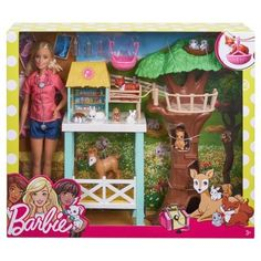 Mattel Barbie Animal Rescuer Doll and Playset for sale online Mattel Barbie, Barbie Doll Set, Barbie Sets, Doll Clothes Barbie, Doll Toys, Barbie Top, Animal Rescue Center, Barbie Playsets, Babies R Us