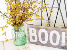 Halloween Entry, Halloween Decorating, Classy Halloween Decor - Pocketful of Posies