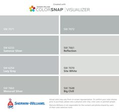Pin Reflection Paint Color Sw 7661 By Sherwin Williams View Interior ...