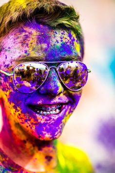Colorful Portraits from the 2012 Festival of Colors by Thomas Hawk portraits holi color Holi Festival Of Colors, Holi Festival India, Holi Colors, World Of Color, Color Of Life, Photoshop, Lightroom, Nature Editorial, Happy Holi