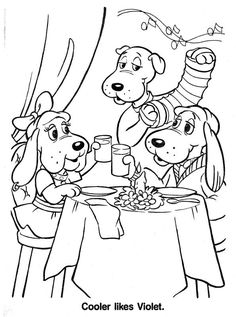 PoundPuppies 1980s coloring page