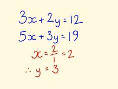 Simultaneous Equations - Algebra Math Trick