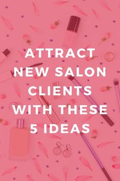 Salon Promotion Idea: Learn the 5 basic marketing elements every salon needs to have to build their business! From branding … Home Beauty Salon, In Home Salon, Home Nail Salon, Beauty Salons, Beauty Salon Design, Nail Salon Decor, Salons Decor, Nail Salon Names, Salon Promotions