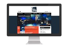 BeJazz, Redesign Website.  www.bejazz.ch