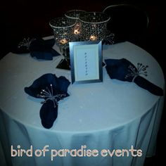 Our clients custom reserved table for surprise retirement event 5.24.13