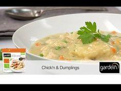 Chick'n Dumplings Recipe   Gardein