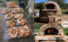 """Build Your Own Outdoor Cob Oven - If you love freshly baked bread and pizza, and you love baking them yourself, then this project could be for you. Outdoor Oven, Outdoor Cooking, Weekend Projects, Diy Projects To Try, Project Ideas, Craft Ideas, Oven Diy, Diy Pizza Oven, Four A Pizza"