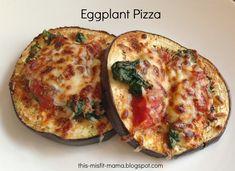 This Misfit Mama: Eggplant Pizza & Monday 21 Day Fix Recap