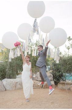 5pcs 90cm Jumbo Latex Helium Inflatable Super Large Giant Round Balloons Wedding Decoration - Wedding Look