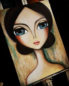 Discover recipes, home ideas, style inspiration and other ideas to try. Art Pop, Abstract Face Art, Pencil Art Drawings, Art Journal Inspiration, Whimsical Art, Resin Art, New Art, Amazing Art, Folk Art