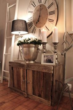 Mix Metal Textures with Reclaimed Wood -Rustic home decor