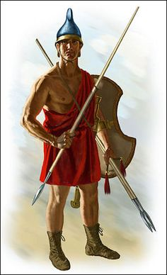 Agrianian soldier