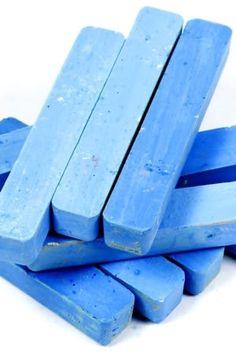 La craie bleue pour renforcer le blanc
