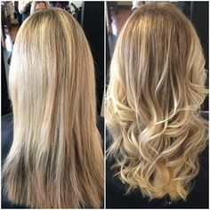 Blonde balayage done by Tricia. Elan Vitale, 905.732.4127, 173 West Main St. Welland ON L3C 5A2