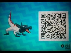 My friend got me this SWEET Shiny (Male) Salandit for me, so now I'll share the QR Code with you awesome people! Shiny Pokémon QR Codes.