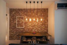 Interior personalizat - caramida aparenta antichizata R690NF14 Furnitures, New Homes, Bathroom, Lighting, Interior, House, Home Decor, Houses, Washroom