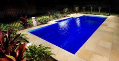 Our gallery of completed Freedom swimming pools is a great source of ideas and inspiration if you're thinking of putting in a pool at your place Backyard Pool Designs, Small Backyard Pools, Small Pools, Best Swimming, Swimming Pools Backyard, Backyard Landscaping, Landscaping Ideas, Cool Pools, Awesome Pools