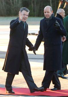 Presidente Santos llega a Oslo para recibir el Nobel de Paz