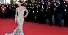 Quarentona, Eva Longoria, eterna 'Desperate Housewives', esbanja boa forma em Cannes