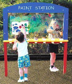 special+needs+playground+equipment | Special needs playground equipment, paint station