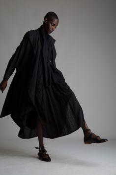 Vintage Issey Miyake Linen Coat