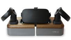 a11450a09bf5 VRGE is the first dock designed to organize and charge multiple virtual  reality hardware brands in desktop ...