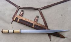 Based off of the Beagnoth seax, I consider this to possibly be the most breath taking seax and trappings I have ever seen. Maker unknown.