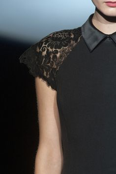 Badgley Mischka at New York Fashion Week Fall 2013 - Details Runway Photos