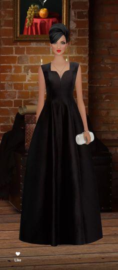464c9d869 15 mejores imágenes de Vestidos   Vestido de baile, Largo vestido de ...