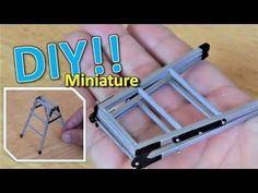 DIY/Miniature trash box(actually works!!)ミニ ゴミ箱の作り方 - YouTube
