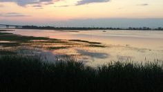 July 11, 2014 sunset reflection in #Brigantine , New Jersey.