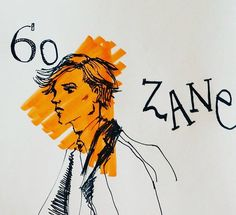 Meet ZANE:•driven and proper.•creative spirit who prefers a moleskine over an IPAD•FOODIE•loves to dress sharp.•unexpected hobby: loves to watch rom-com.  #man #illustration #sketch #ink #drawing #copicmarker