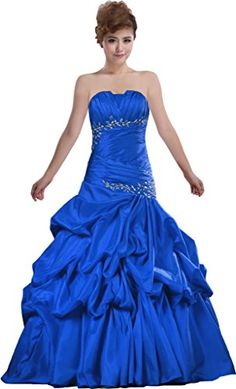 Product Name:Strapless Quinceanera Dresses Pleat Off the Shoulder.Fabric:Taffeta.Silhouette:Ball Gown.Back:Lace Up Back.Dress Length:Floor Length.Note:Computer screens have chromatic aberrationespeci...