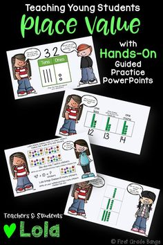**Common Core Aligned!** This bundle includes 10 interactive PowerPoint guided practice lessons to keep students engaged and learning! These simple lessons use snap cubes and dry erase boards to work hands-on along with Lola.Kids love the characters and familiar scenarios, and teachers love how all the work is done for them. Just play each lesson as a slideshow and encourage student participation as you click through the animations! $