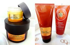 A selection of The Body Shop items that I've been putting in my basket recently. Oil Shop, Beauty Review, The Body Shop, Skin Care, Cream, Shopping, Creme Caramel, Skincare