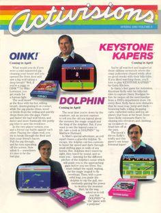 Activisions (Vol. 6) - Spring - 1983: Atari magazine scans #magazines #retrogaming #activision