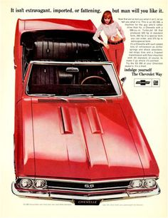 Old car and truck advertisements, The Chevrolet Compacts