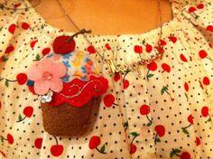 Mini-cupcake para a mini-sobrinha. <3