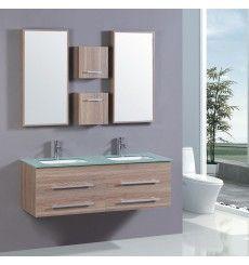 Meubles salle de bain double vasque: achat meubles salle de bain double vasque